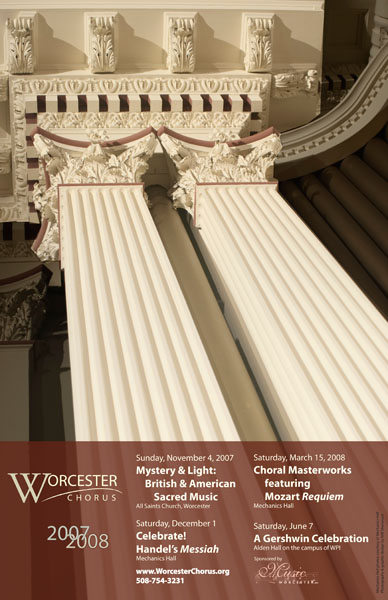 worcester chorus poster