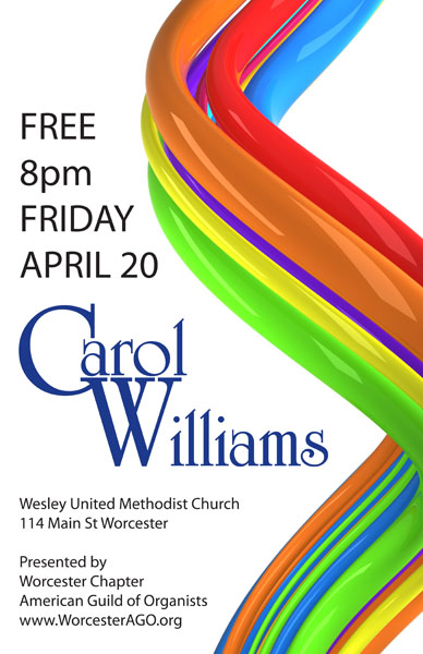 carol williams, organist