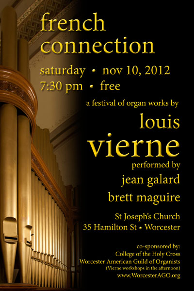 french connection louis vierne brett maguire concert