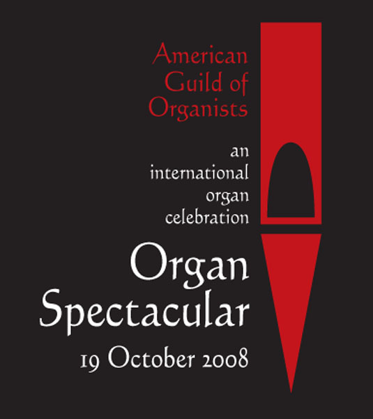 american guild of organists logo & poster